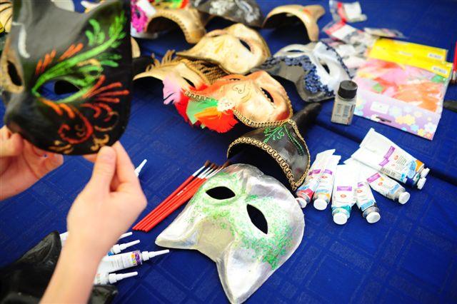 Мастер класс венецианские маски. Детский венецианский карнавал.